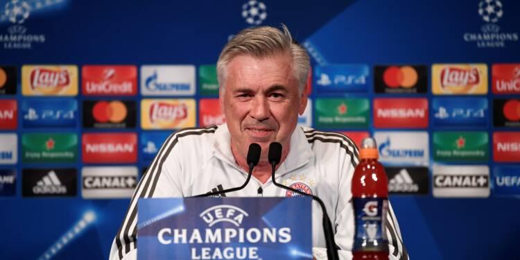 Italie: Carlo Ancelotti nouvel entraîneur de Naples