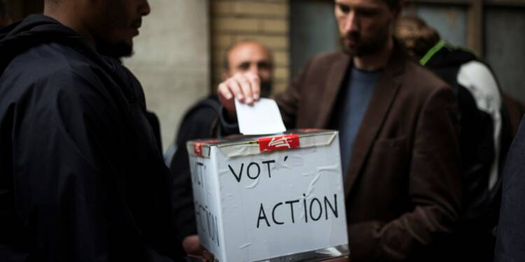 """""""Vot'action"""" SNCF: 94,97% des votants se disent contre la réforme"""
