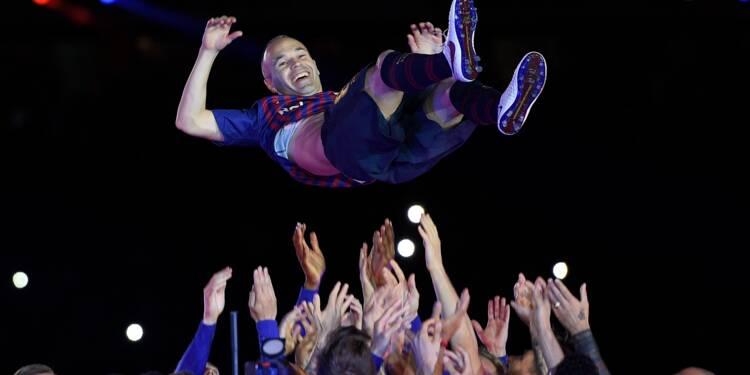 Transfert: Vissel Kobe déroule le tapis rouge à Andrès Iniesta, l'icône du Barça
