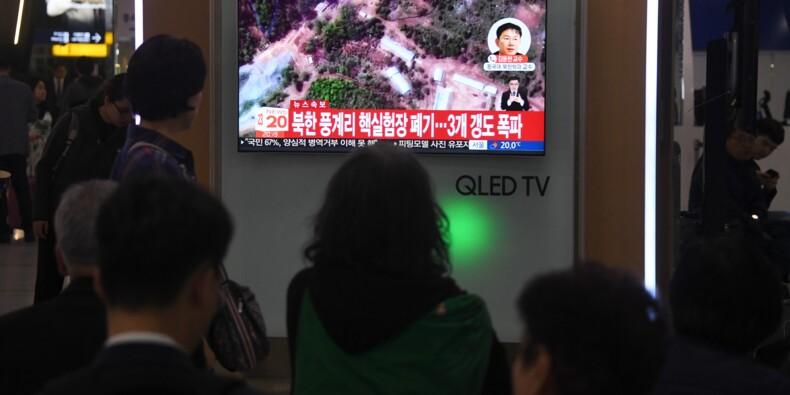 La Corée du Nord a démantelé son site d'essais nucléaires avant un sommet avec Trump