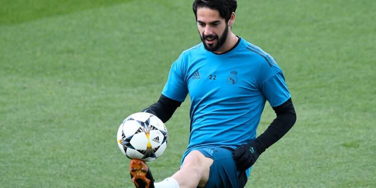 Real Madrid: Isco titulaire, Bale remplaçant en finale contre Liverpool