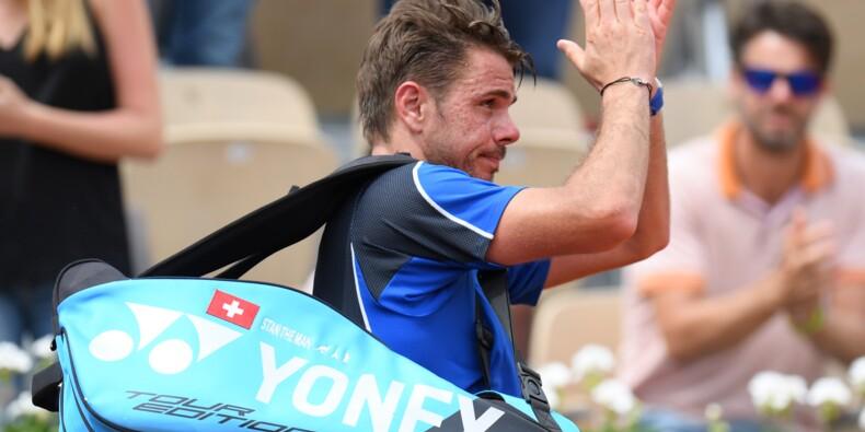 Roland-Garros: Wawrinka à genoux, Mladenovic tombe de haut