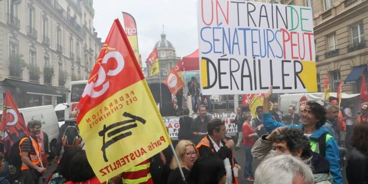 SNCF: la réforme arrive au Sénat, pas la fin du combat pour les cheminots