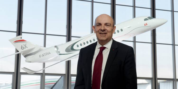 """""""La pérennité des ailes françaises"""", seule ambition de Serge Dassault (PDG Dassault Aviation)"""