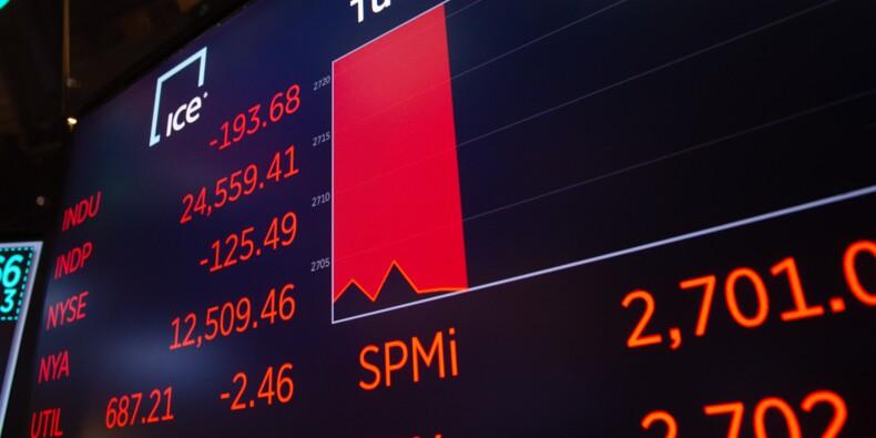 Wall Street affectée par la crise italienne