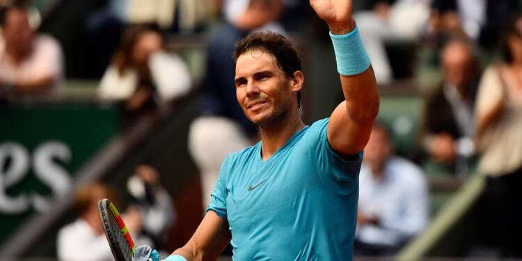 Roland-Garros: Nadal et Sharapova ont un peu ramé