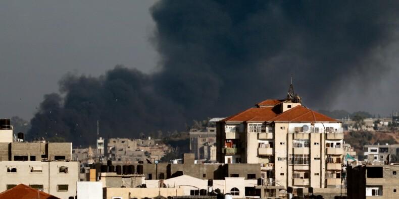 Raids israéliens et tirs palestiniens, confrontation la plus sévère depuis 2014