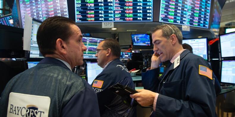 Wall Street, aidée par l'énergie et la finance, rebondit