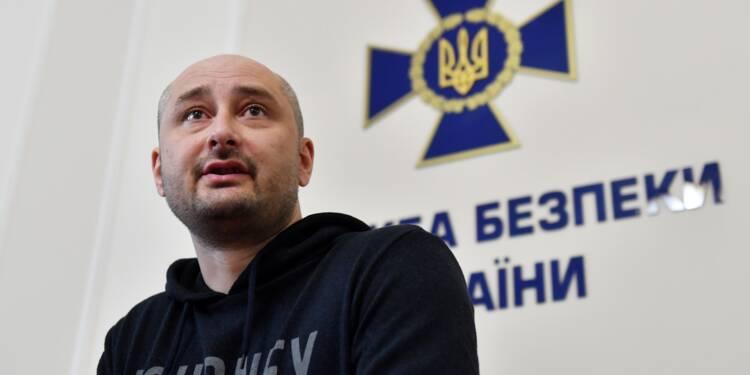 Ukraine: le journaliste russe Babtchenko est vivant, son meurtre mis en scène par Kiev