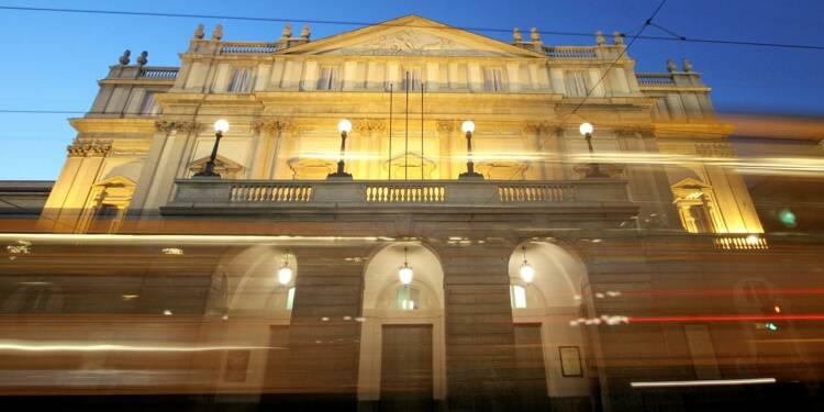 Woody Allen et Cecilia Bartoli en 2019 à la Scala, qui s'ouvrira avec Verdi
