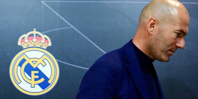 Espagne: Zidane quitte le Real Madrid, à la surprise générale mais au sommet