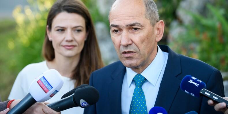 Slovénie: le conservateur anti-migrants Jansa en tête des législatives