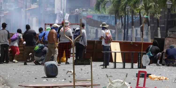Nicaragua: la violence se poursuit en province, des morts et des blessés