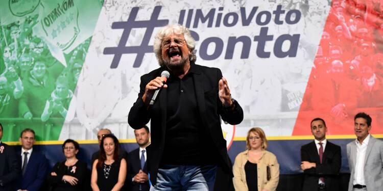 Italie: les antisystème du M5S fêtent leur arrivée au pouvoir