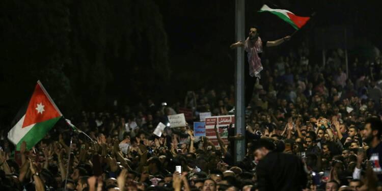 Jordanie: face à la contestation sociale, le roi convoque son Premier ministre
