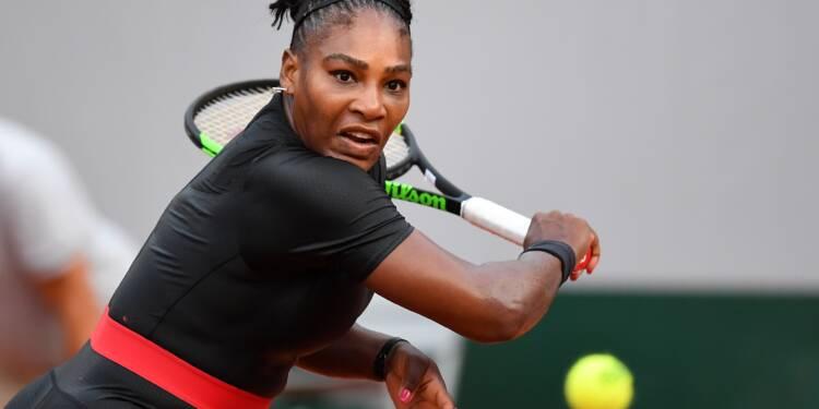 Roland-Garros: blessée, Serena Williams déclare forfait avant les huitièmes de finale