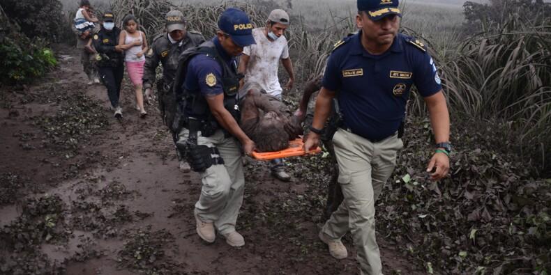 Eruption d'un volcan au Guatemala: six morts, 20 blessés, 2.000 évacués
