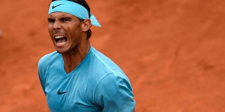 Roland-Garros: le ciel donne du répit à Nadal