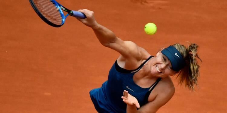 Roland-Garros: Sharapova au révélateur Muguruza