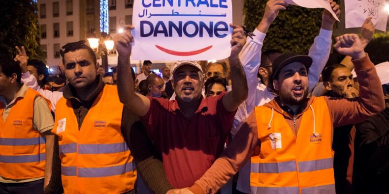 Maroc: les salariés de Danone, boycotté, manifestent pour leurs emplois