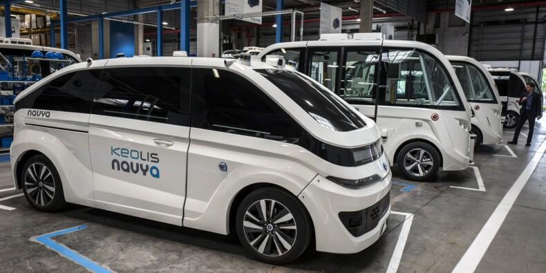 Véhicules autonomes: la startup Navya prépare son entrée en Bourse