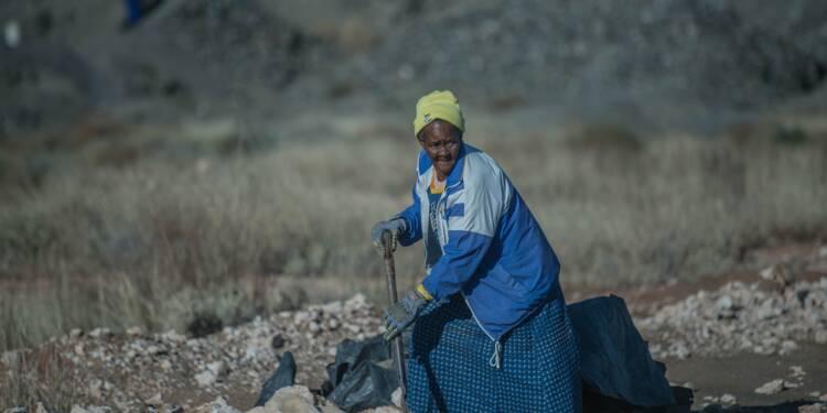 En Afrique du Sud, des mineurs illégaux sortent de l'ombre