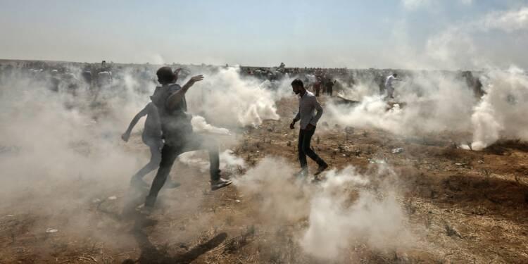 Un photographe de l'AFP blessé par balle lors de heurts à Gaza
