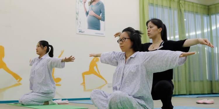 Après l'accouchement, le réconfort: repos 5 étoiles pour mamans chinoises