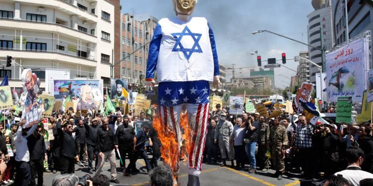 """""""Journée de Jérusalem"""": les Iraniens manifestent en soutien aux Palestiniens"""