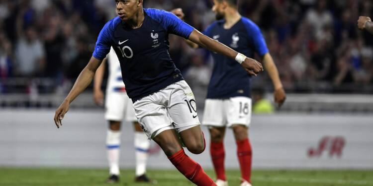Les Bleus terminent leur préparation au Mondial par un match nul 1-1 contre les Etats-Unis