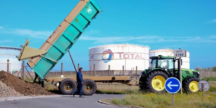 Total se veut rassurant sur l'approvisionnement des stations-service