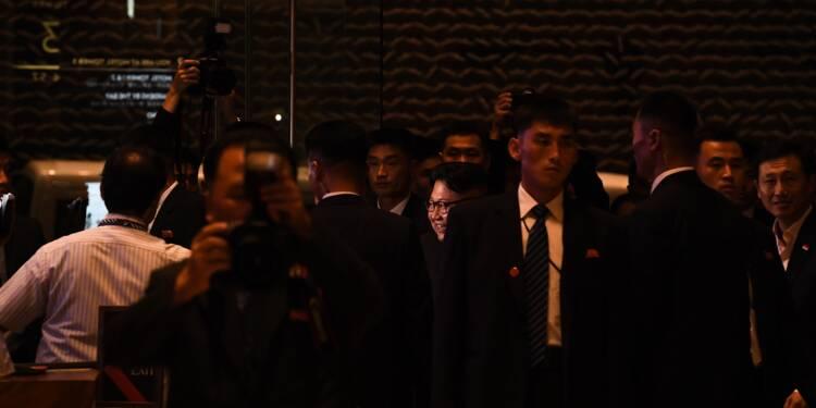 Kim Jong Un en sortie nocturne dans Singapour à la veille de son sommet avec Trump (AFP)