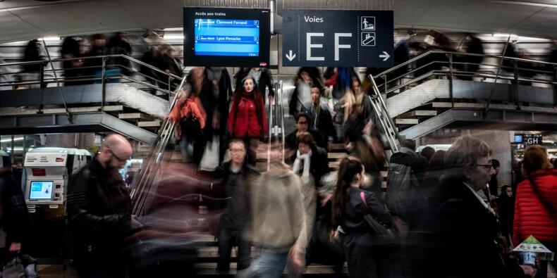 SNCF: trois TGV et Transilien sur cinq, un TER sur deux mardi