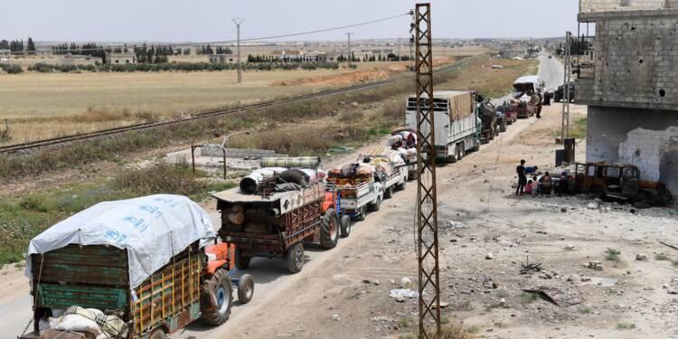 Syrie: plus de 920.000 déplacés en 2018, record depuis le début du conflit