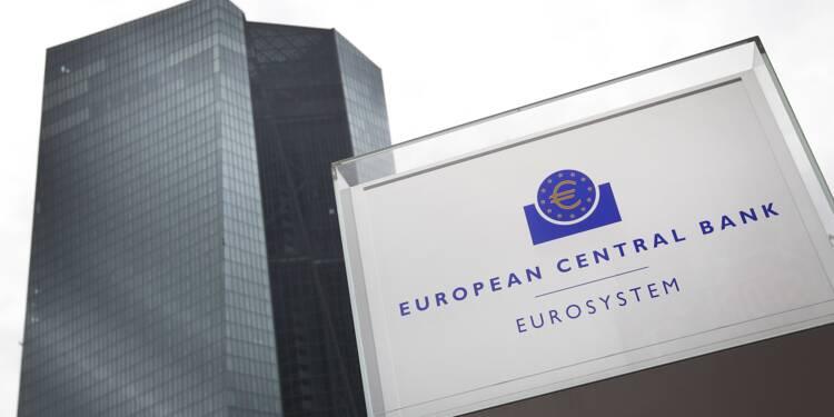 La BCE maintient son cap monétaire, le commerce international source d'inquiétude