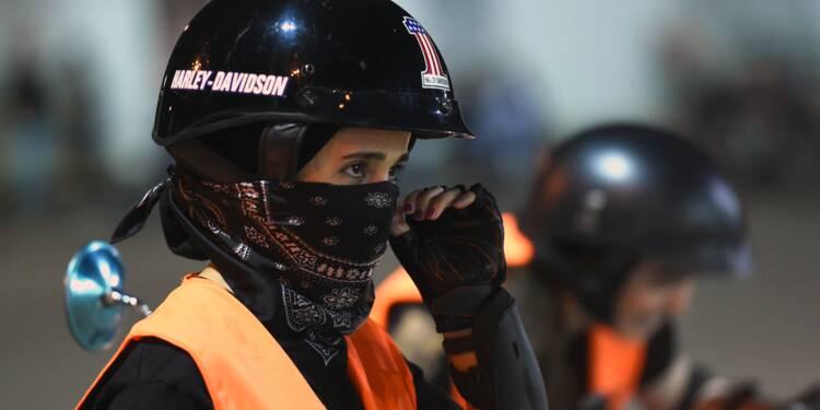 Levée de l'interdiction de conduire: des Saoudiennes domptent la moto