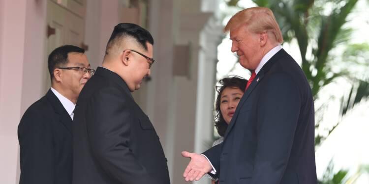 """Il n'y a """"plus de menace nucléaire"""" nord-coréenne, claironne Trump"""
