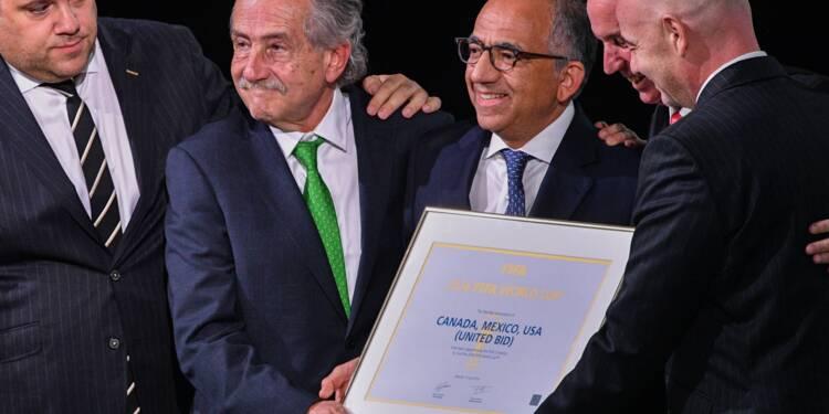 Foot: le trio Etats-Unis/Canada/Mexique organisera le Mondial-2026 (Fifa)