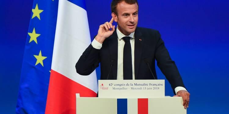 """Protection sociale: Macron annonce les grandes lignes de sa """"révolution"""""""