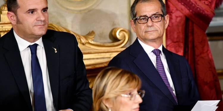Le ministre italien de l'Economie annule sa rencontre avec son homologue français à Paris