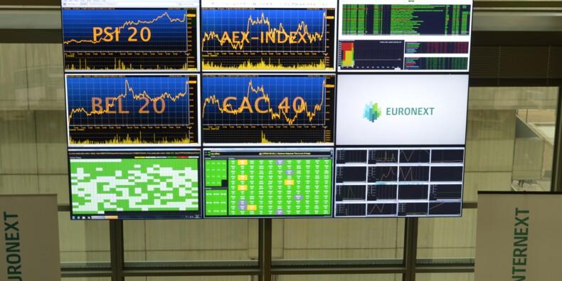 La Bourse de Paris finit en nette hausse, dopée par la BCE