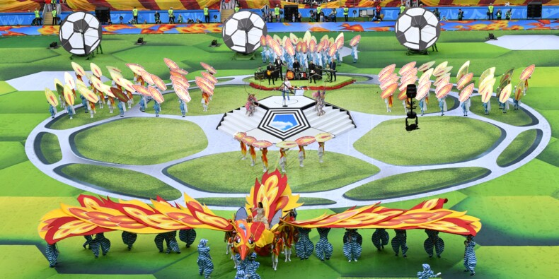 Cérémonie d'ouverture du Mondial-2018
