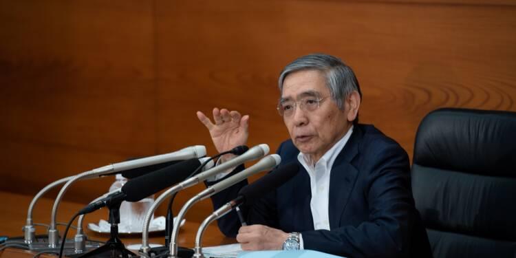 La BoJ ne voit pas le bout du tunnel, loin derrière la Fed et la BCE