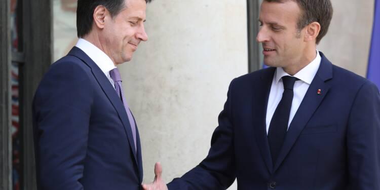 Conte à Paris pour dépasser les débats houleux sur la crise migratoire