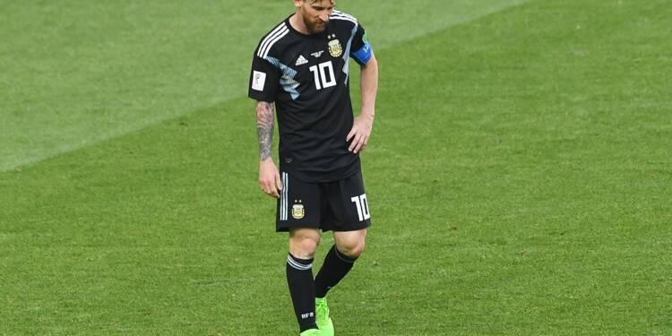 Mondial-2018: l'Argentine tenue en échec par l'Islande, mais si, Messi!