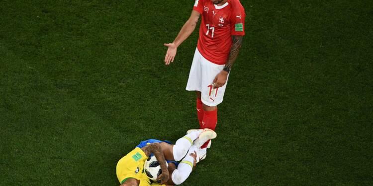 Mondial-2018: le Brésil et Neymar déçoivent contre la Suisse