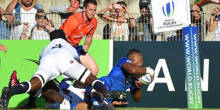 Rugby: la France sacrée championne du monde des moins de 20 ans