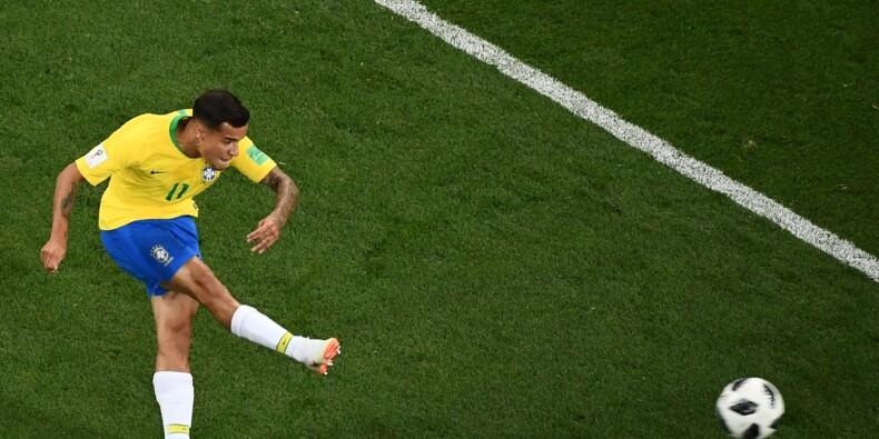 Mondial-2018: un bijou de Coutinho offre l'avantage au Brésil à la mi-temps