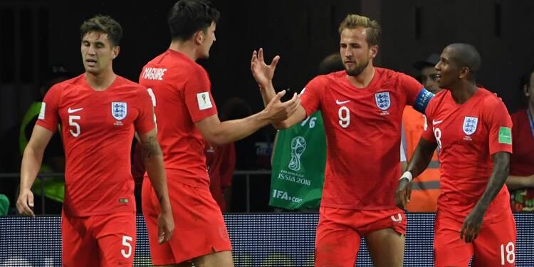 Mondial-2018: Kane sauve la séduisante Angleterre