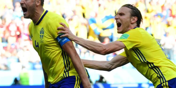 La Suède lance son Mondial-2018 par une victoire 1-0 sur la Corée du Sud